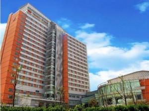 五星级上海复旦皇冠假日酒店订购VOFU/沃尔夫壁挂式应急消防手电筒330套