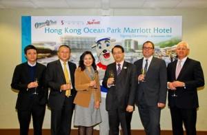 香港海洋公园万豪酒店手电筒品牌