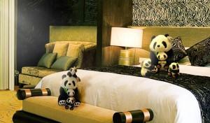 广州长隆酒店客房应急消防手电筒
